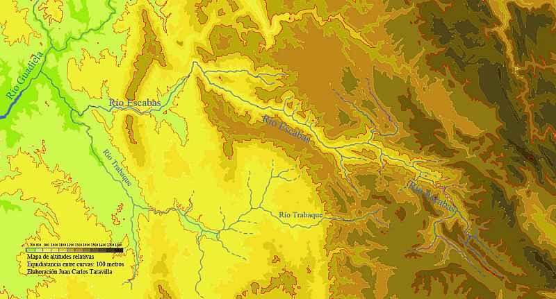 Mapa de Altitudes Relativas