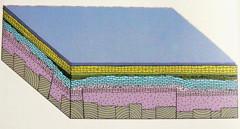 Sedimentación Marina en el Mesozóio