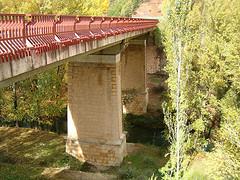 Nuevo puente de acceso a Priego