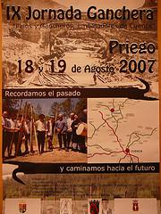 Cartel IX Jornada Ganchera