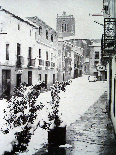 Calle Larga y Torre Iglesia